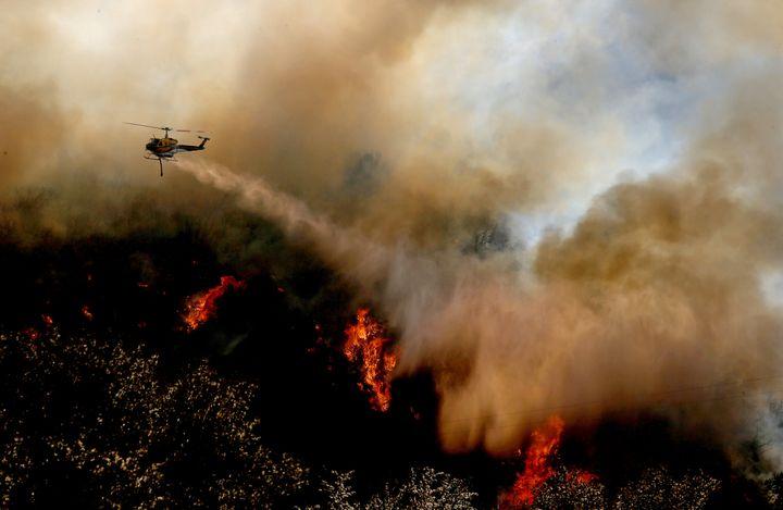 August's Blue Cut fire destroyedmore than 100 homes.