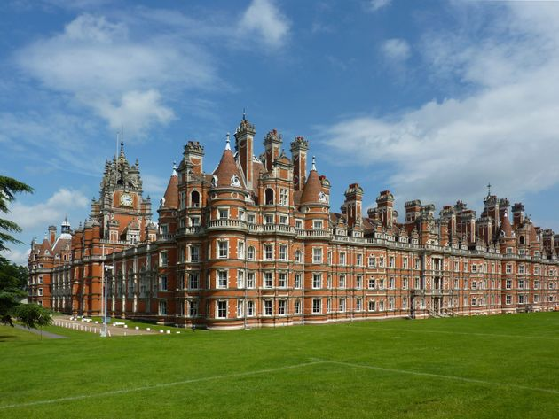 Hundreds of students were evacuated after several fires were started at Royal Holloway
