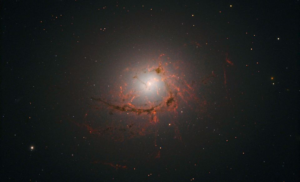 NASA's Hubble Telescope Captures Stunning Supermassive Black Hole As It Engulfs An Entire