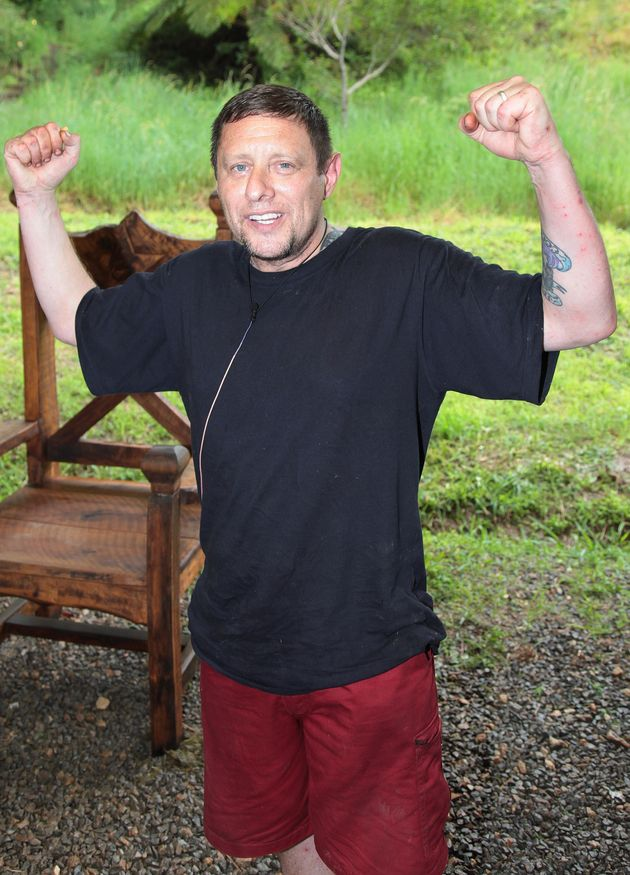 Shaun Ryder was runner up of 'I'm A Celebrity' in