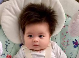 This Two-Month-Old Baby Is Giving Us Serious Hair Envy