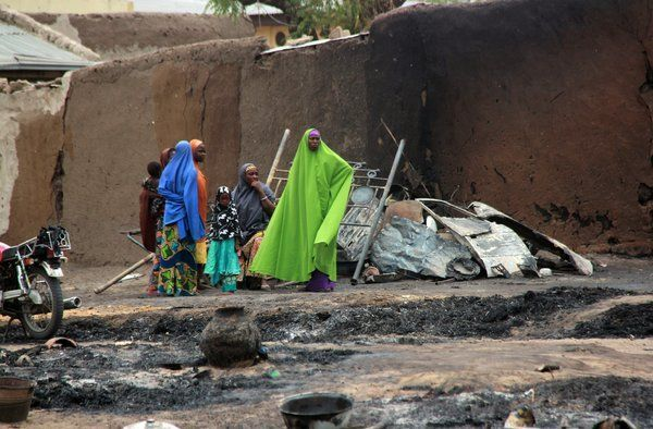 Almost two years on from the Baga Massacre, the town of Baga remains a ghost town.