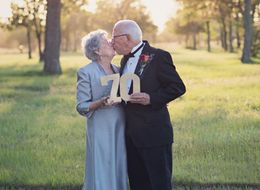 Couple Celebrate 70th Wedding Anniversary With The Photoshoot They Never Had