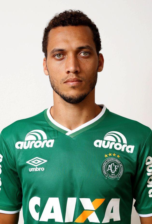 Helio Hermito Zampier Neto was one of three Chapecoense players who survived the