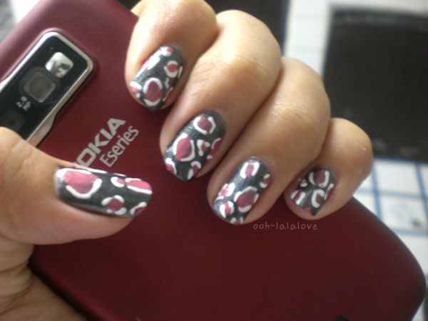 Be creative to bring out your inner beast showcased on nails