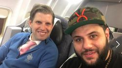 A Muslim Comedian Sat Next To Eric Trump On A
