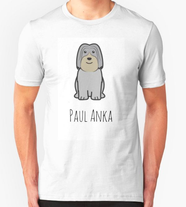 "<a href=""http://www.redbubble.com/people/ellaplum05/works/24050339-paul-anka-gilmore-girls?body_color=white&p=t-shirt&amp"