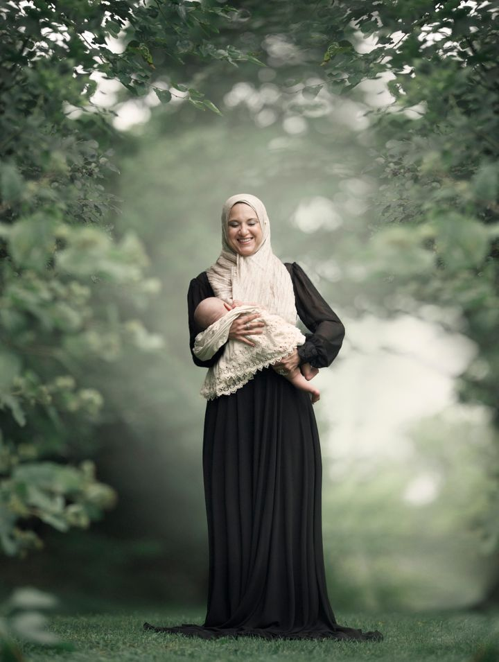 Ivens said she hopes her photos can help break down the stigma around breastfeeding in public.