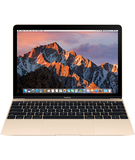 "12-Inch Gold Macbook, $1,299, <a href=""http://www.apple.com/shop/buy-mac/macbook/gold-256gb"" target=""_blank"">Apple</a>"