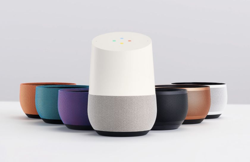 "Google Home, $129, <a href=""http://www.target.com/p/google-home-white-4658762/-/A-51513049"" target=""_blank"">Target </a>"