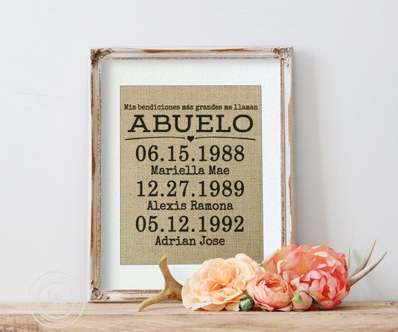 """$17.50, KNOT n NEST. <a href=""""https://www.etsy.com/listing/295370449/spanish-gift-for-papi-gift-for-papi?ga_order=most_releva"""
