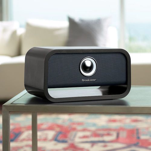 "Big Blue Studio Wireless Wi-Fi Speaker with Chromecast built-in, $129.99, <a href=""http://www.brookstone.com/pd/big-blue-stud"