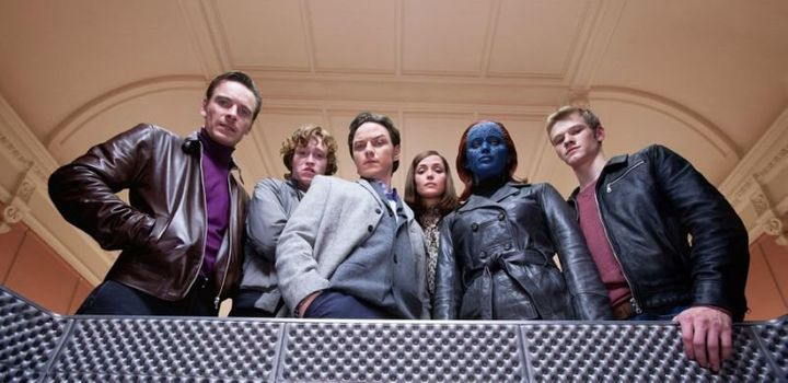 The X-Men in the latest incarnation of the franchise.