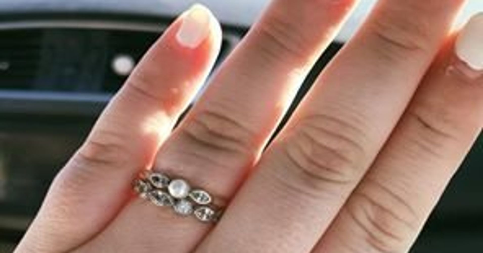 Why This Wife Is Proud Of Her 'pathetic' $130 Engagement Ring  Huffpost