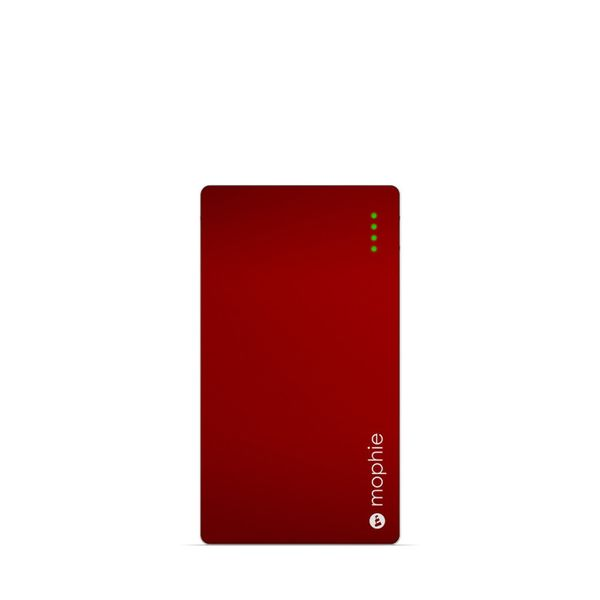 "Mophie Phone Charger, $22.99, <a href=""https://www.amazon.com/mophie-Powerstation-4-000mAh-Red/dp/B006L9I43O?tag=thehuffingto"