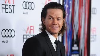 HOLLYWOOD, CA - NOVEMBER 17:  Actor Mark Wahlberg attends the closing night gala screening of 'Patriots Day' at the 2016 AFI Fest at TCL Chinese Theatre on November 17, 2016 in Hollywood, California.  (Photo by Jason LaVeris/FilmMagic)