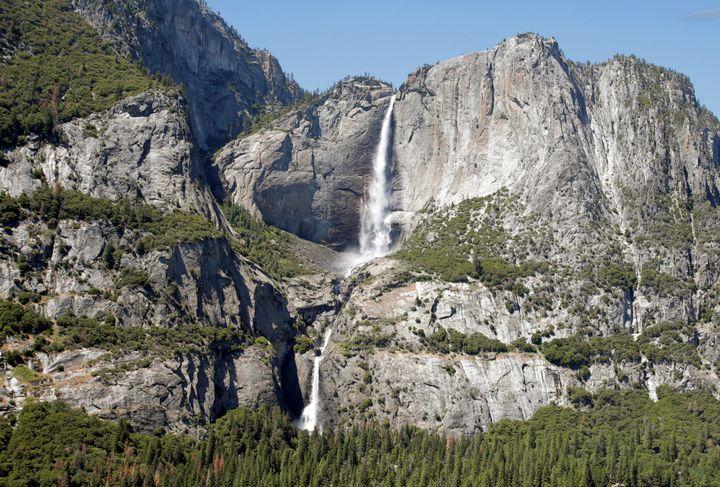 Yosemite Falls, a mainstay of Yosemite National Park.
