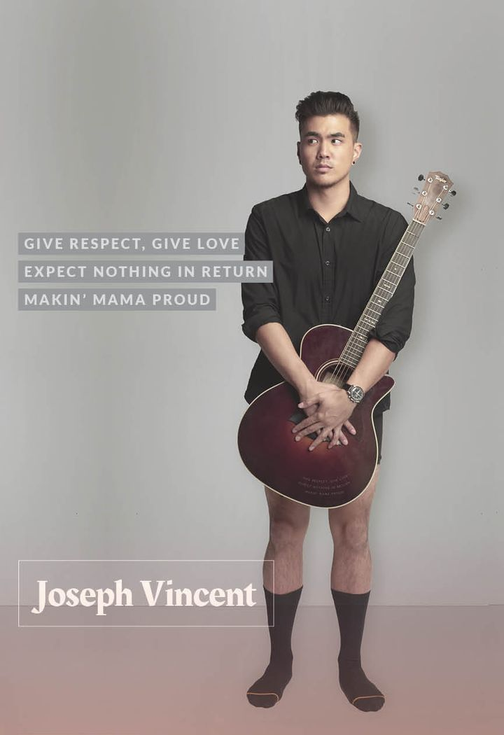 Joseph Vincent, singer who gained popularity through YouTube.