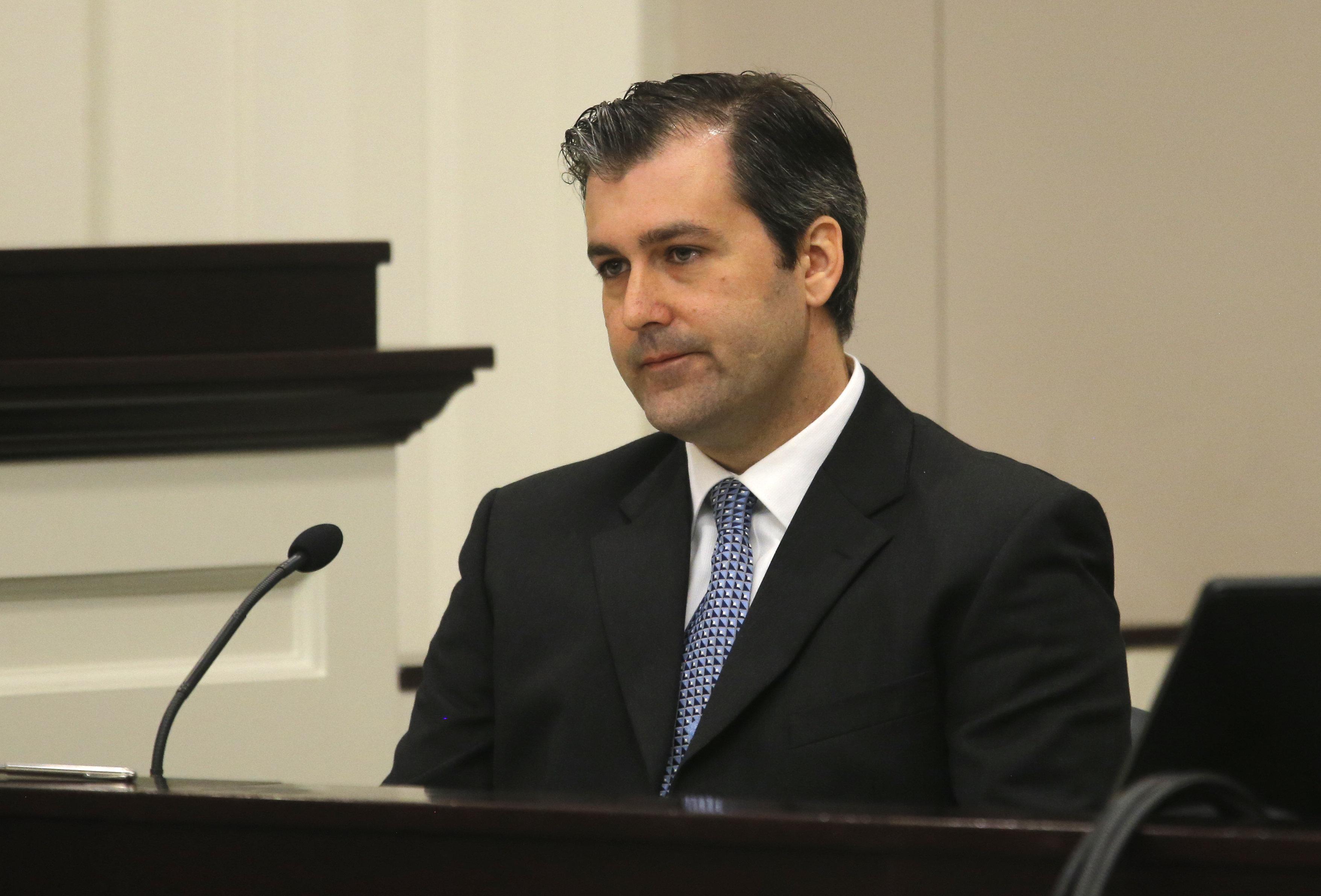 Michael Slager testified in court this week