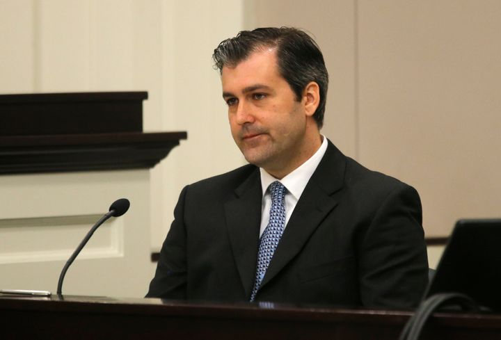 Michael Slager testified in court this week