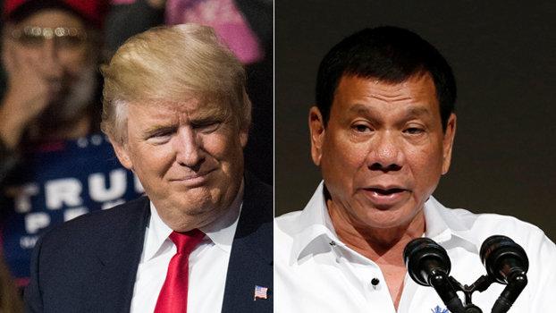 Donald Trump Invites Philippines Duterte To White