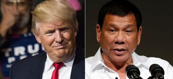 Philippines Leader Says Trump Praised His Deadly Drug War, Gave White House Invite