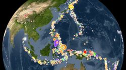 Watch 15 Years Of Earthquakes Rock The