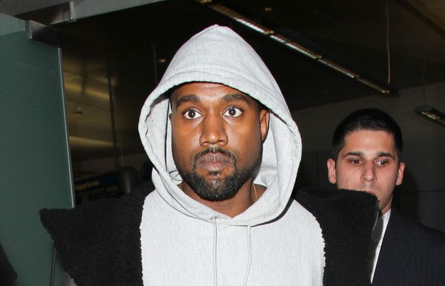 Kanye West seen at LAX a week before his