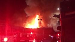 As Many As 40 Feared Dead After Fire Rips Through Californian Warehouse