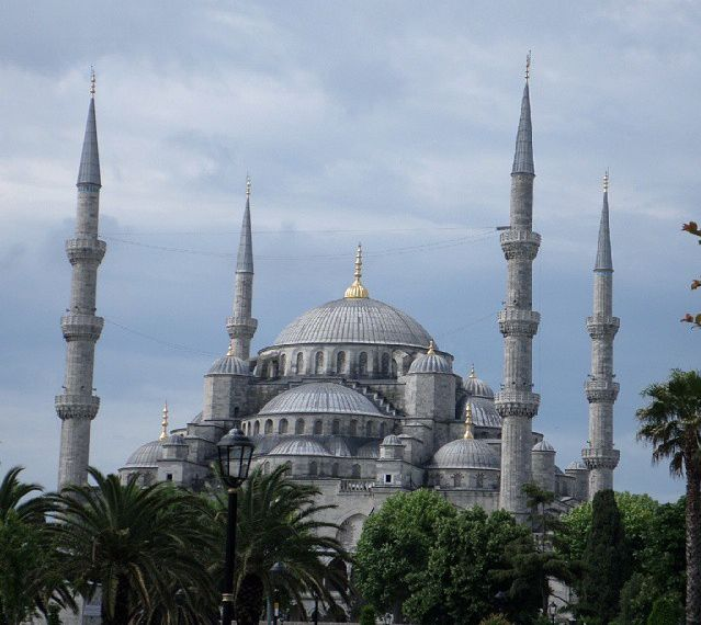 Sultan Ahmet Mosque, known as the Blue Mosque (exterior)