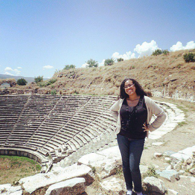 In the city of Aphrodisias