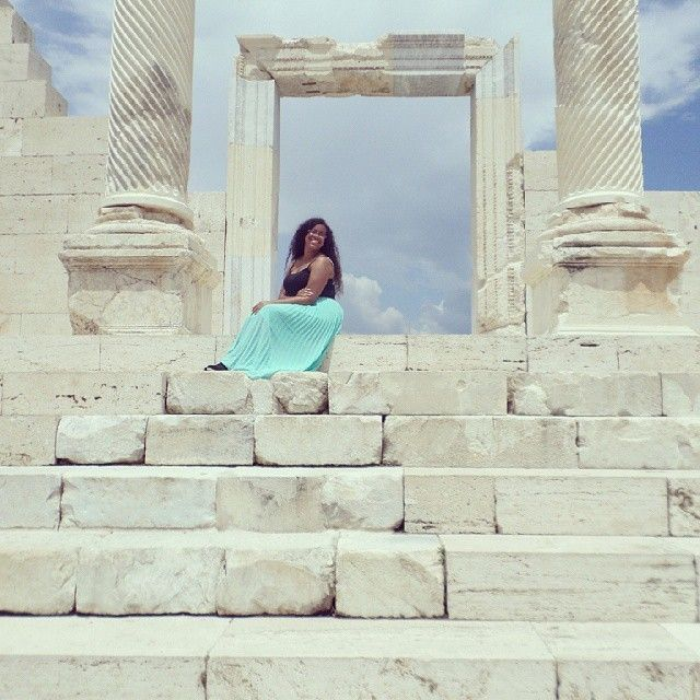 Feeling like a goodess in the city of Aphrodite