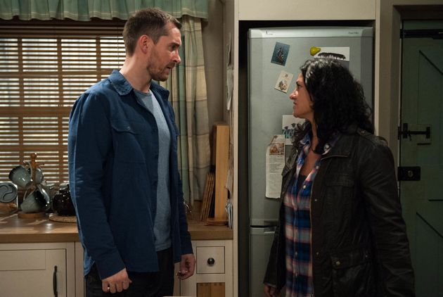 Another recent storyline saw Moira romance her