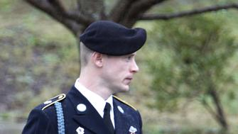 U.S. Army Sergeant Bowe Bergdahl leaves the courthouse after an arraignment hearing for his court-martial in Fort Bragg, North Carolina, December 22, 2015.  REUTERS/Jonathan Drake/File Photo