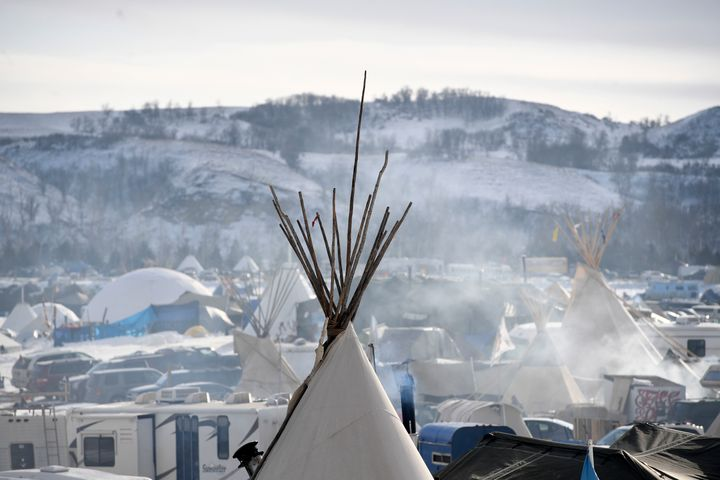 Ed Ou was on his way to the Standing Rock encampment in North Dakota when border officials stopped him.
