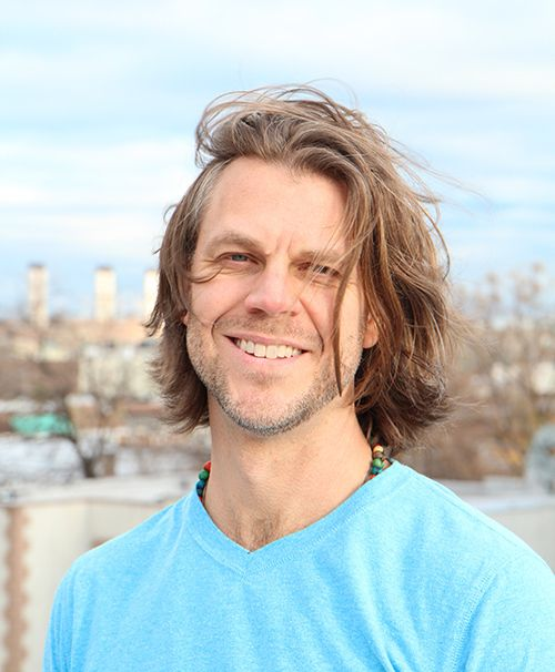 <strong>Anthony is the co-owner of The Giving Tree Yoga Studio.</strong>