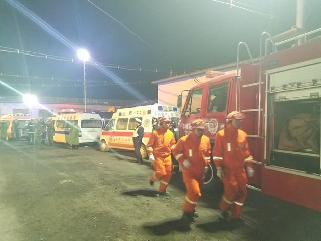 Death toll at 32 in Chinese mine disaster