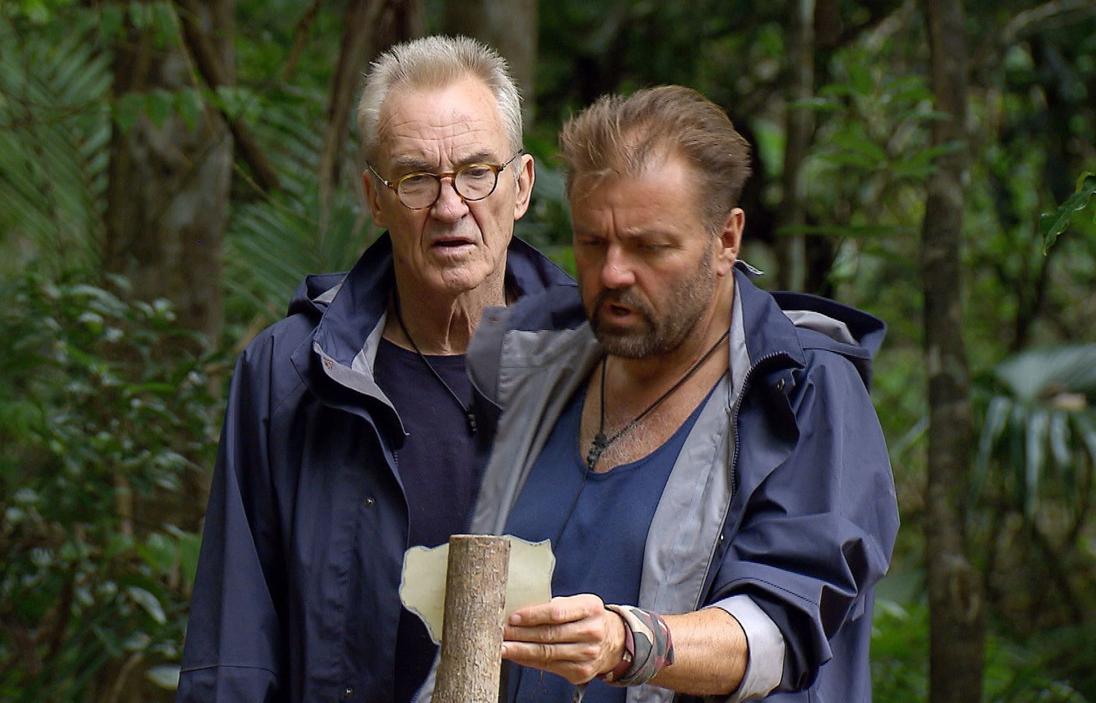I'm A Celebrity's Martin Roberts Compares Larry Lamb To Schoolyard