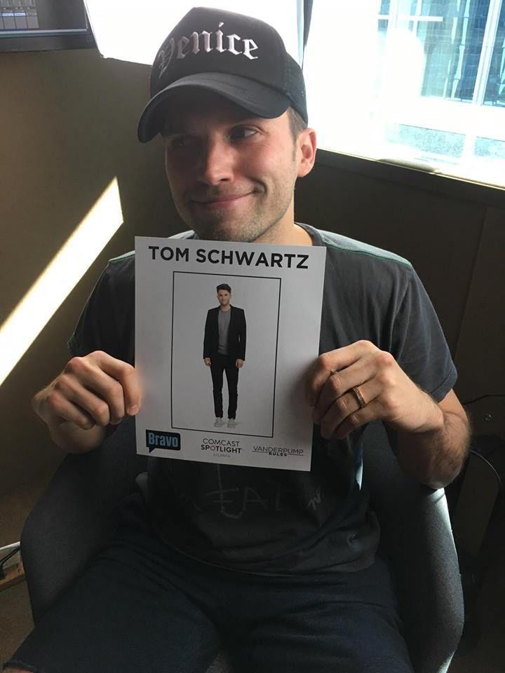 <em>Vanderpump Rules</em>' Tom Schwartz at the Wondery studio for Kate Casey's podcast