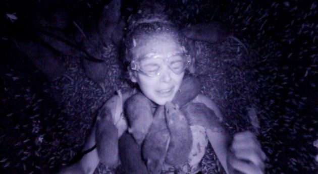 Scarlett was covered in rats in her Bushtucker