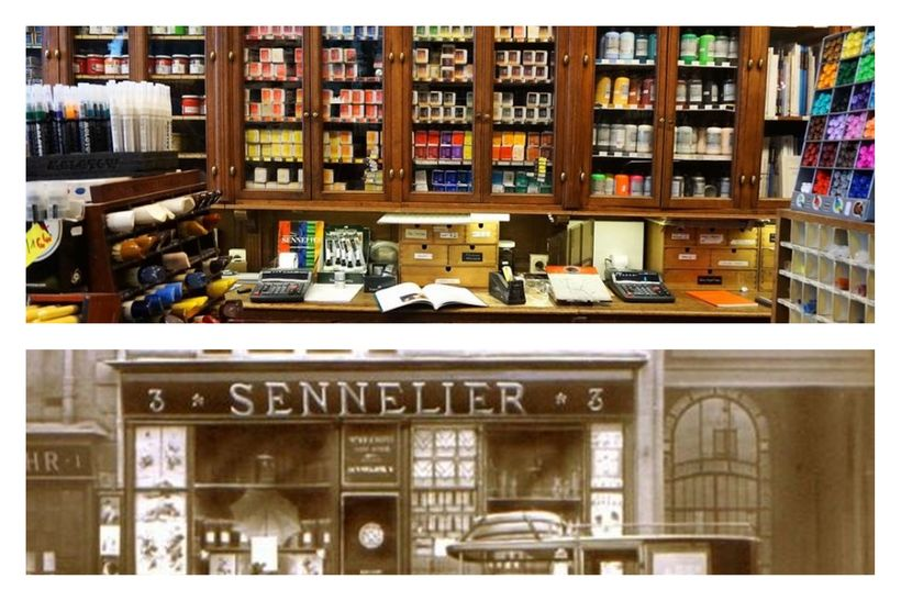 "Located in Paris, France is <a href=""http://www.sennelier.fr/"" target=""_blank"">Sennelier</a>"