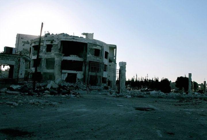 Aleppo in late 2014.