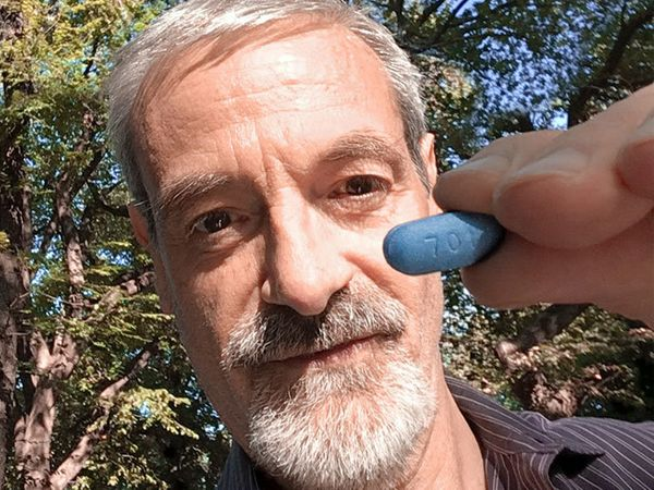 """Peter Fahrni: """"As someone who is HIV-negative, I can only fathom the hurtful, dehumanizing stigma faced by many in the HIV co"""