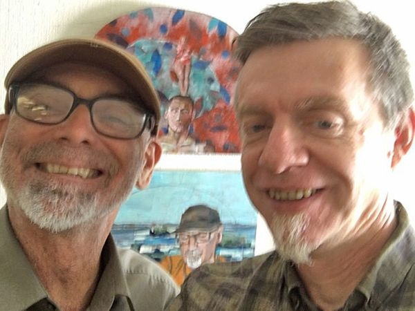 """Ralph Thurlow and David Spiher: """"Ralph has had AIDS for 15 years, and an HIV/AIDS dementia diagnosis for threeyears. Da"""