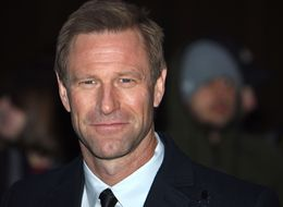 WISE WORDS: Aaron Eckhart Reveals Harrison Ford's 'Two Words That Made His Career'