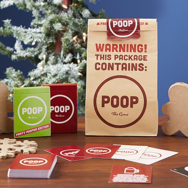 "Just to be clear: <a href=""https://breakinggames.com/products/poop-brown-bag-combo"" target=""_blank"">Poop is a game,</a> not a"