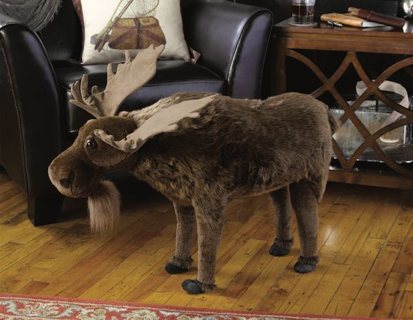 After a hard day, there is nothing like resting your feet on a moose-shaped Ottoman. And there is probably nothing in your ho