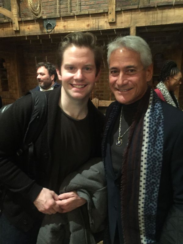 """<strong>""""After the show many times we get to meet cool celebrities. Tonight was Greg Louganis!""""</strong>"""