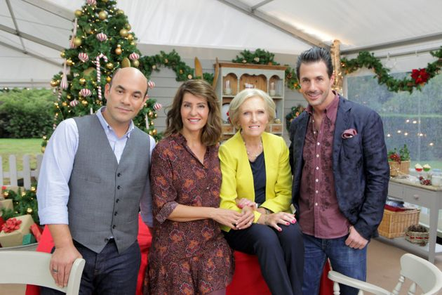Mary Berry is a judge on 'The Great American Baking