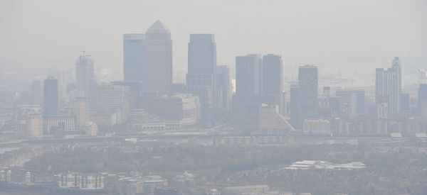 Londoners Warned Not To Drive Because The Air Pollution Is So Bad
